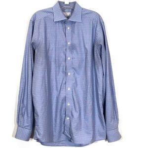 [Eton] Contemporary Fit Luxury Dress Shirt 16.5 44